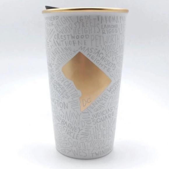 New Starbuck 🌟 Washington DC Ceramic tumbler
